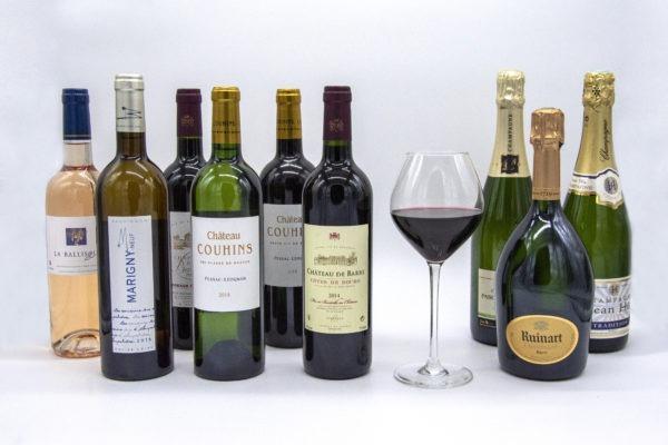 carte vins livrés Paris