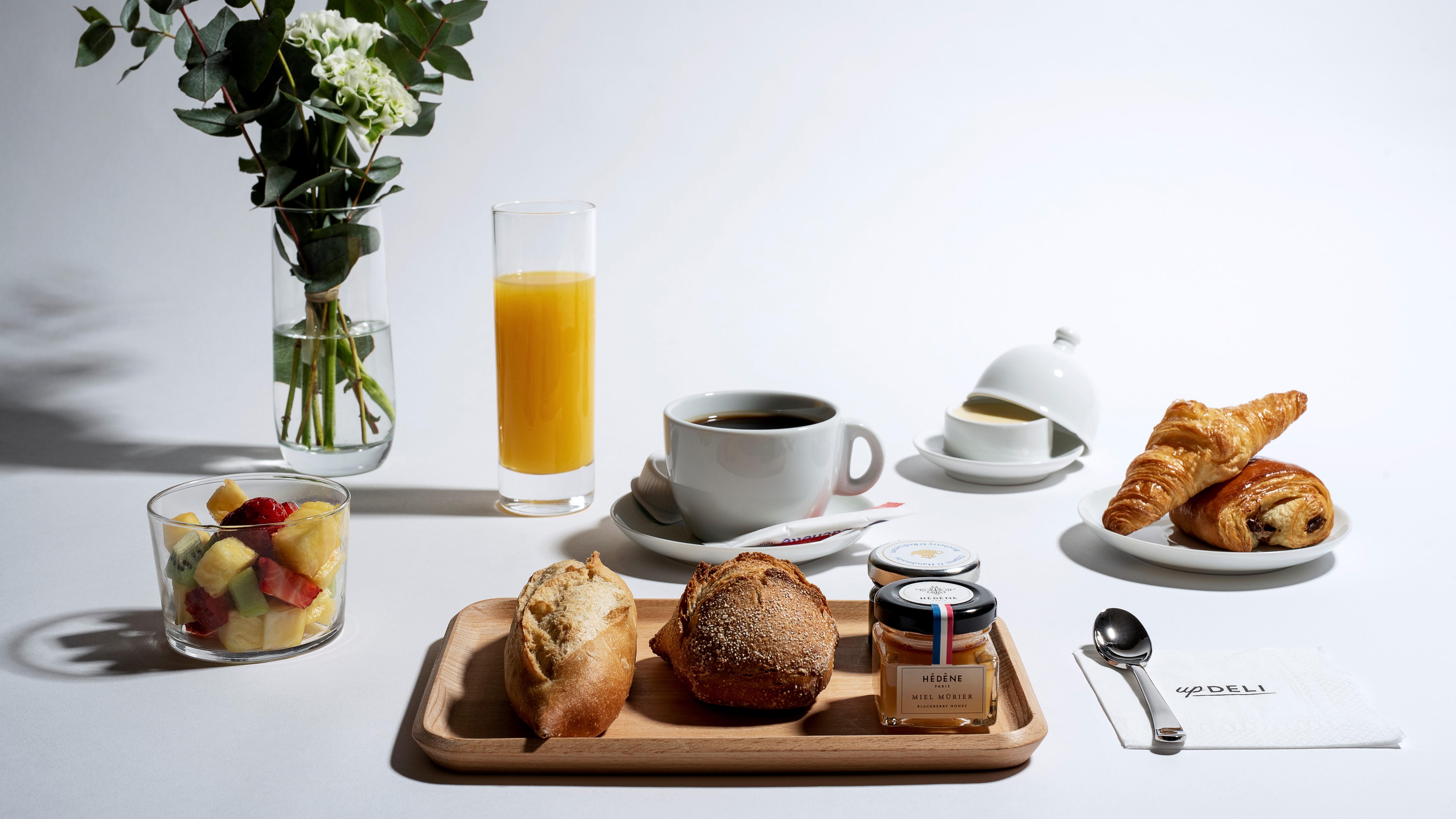 petit déjeuner continental gastronomique UpDELI