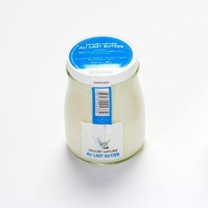 yaourt à l'ancienne au lait entier